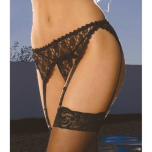 Pretty Lace Garter Belt