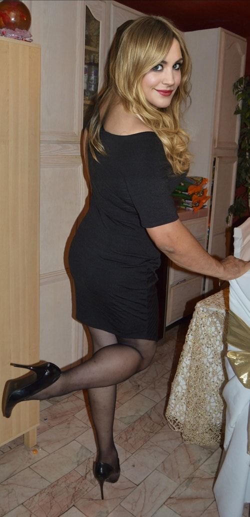 Amateur stockings Live Home