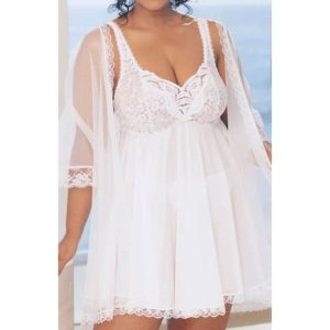 Baby Doll Peignoir Set