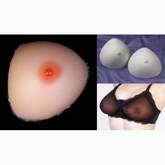 Night and Day Crossdresser Breast Forms Kit